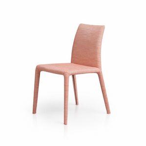 Emi, Chaise moderne, souple et polyvalent, rembourré