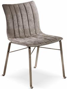 Ginevra Chaise, Chaise avec siège ergonomique