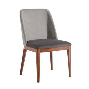 Margot, Chaise moderne en bois rembourr�