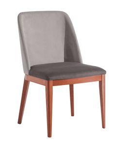 OSLO S, Chaise rembourrée confortable