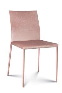 Plata tissu, Chaise moderne recouverte de tissu
