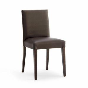 RELAX BASSA, Chaise rembourrée avec des lignes modernes, pour les salles de conférence