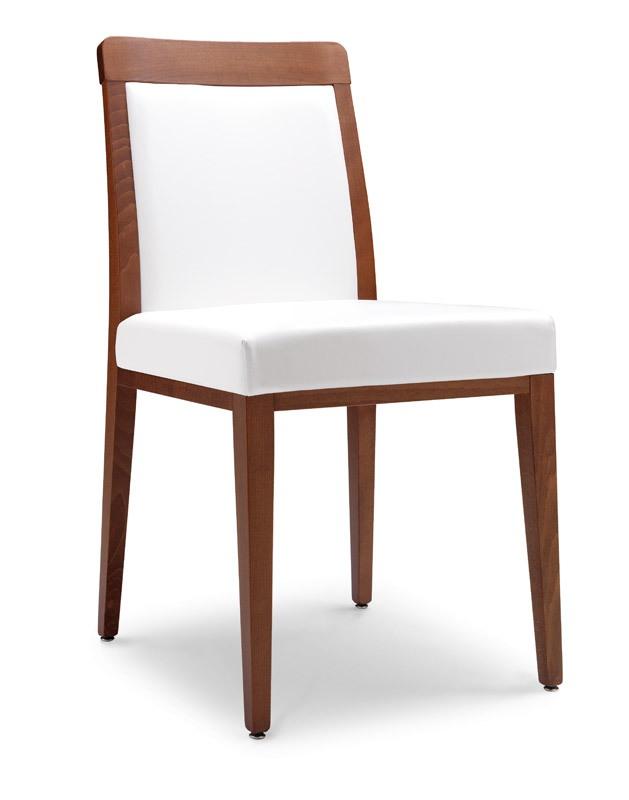 SE 49 / E, Chaise moderne avec siège rembourré, pour les restaurants