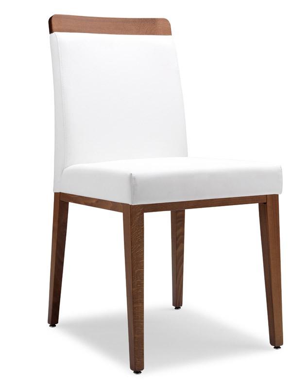 SE 49 / L, Chaise recouverte de tissu, cadre en bois, pour les bars