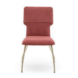 Twiggy 04112, Chaise ignifuge avec structure en métal