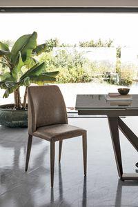 VIENNA SE608, Chaise rembourrée idéal pour la cuisine et salle à manger