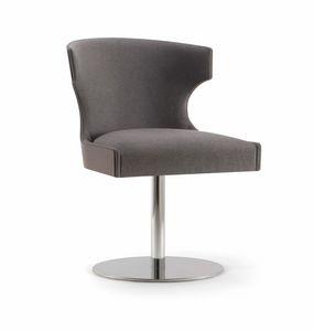 XIE SIDE CHAIR 053 S F, Chaise avec base de disque