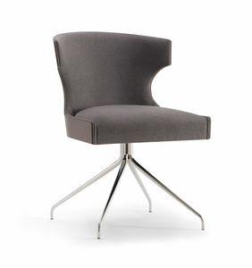 XIE SIDE CHAIR 053 S Z, Chaise avec base en araignée