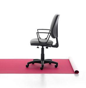 Eros 01 CP, Siège de travail rembourré, base en aluminium, pour le bureau