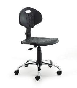 UF 426, Chaise avec assise en polyuréthane et à l'arrière