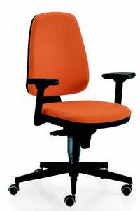 11555 Golf, Chaise de bureau avec accoudoirs réglables
