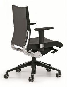 AVIA 4006, Opérationnelle chaise de bureau, support de dossier en aluminium