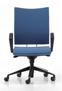 AVIAMID 3414, Chaise rembourrée avec accoudoirs, pour les bureaux et les studios