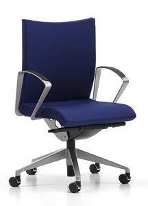 AVIAMID 3504, Chaise pivotante à roulettes, pour une salle informatique