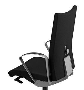 AVIAMID 3514, Chaise rembourrée avec accoudoirs, pour le bureau moderne