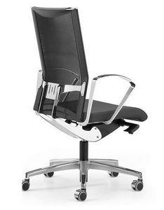 AVIANET 3614, Les chaises de travail avec dossier résille et le soutien lombaire