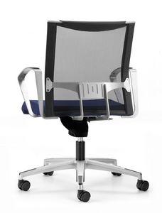 AVIANET 3654, Chaise de bureau opérationnel, avec des roues et dossier résille
