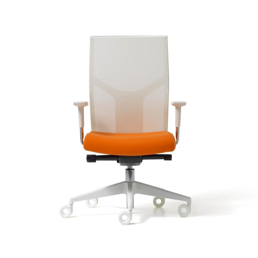 Fit mesh, Chaise de bureau opérationnel, avec le dos net