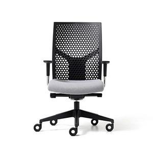 Fit poly, Chaise de bureau avec dossier en polypropylène, réglable