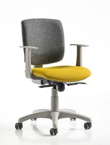 Free, Chaise de bureau, en différentes couleurs, pour la zone de l'ordinateur