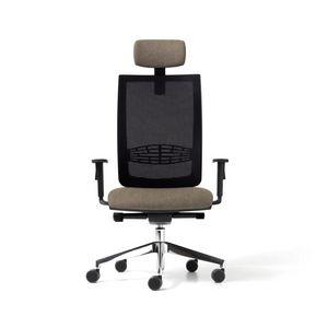 Goal mailler, Chaise avec dossier net pour le bureau, en différentes couleurs