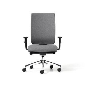 Goal tapissé, Chaise avec appui-tête pour le bureau, le mécanisme de changement de vitesse