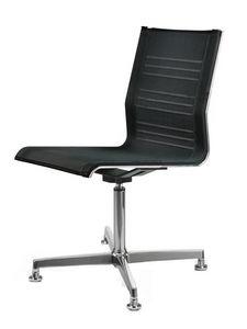 KEYPLUS 3156, Chaise pivotante à 4 pieds, pour le bureau moderne