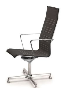 KEYPLUS 3158, Chaise de bureau, ergonomique et respirante shell