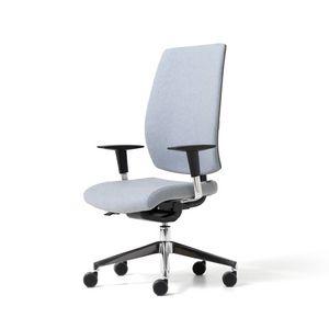 Lead tapissé, Chaise de bureau rembourrée avec réglages ergonomiques