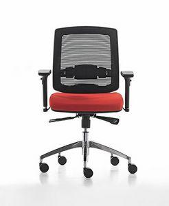 New Malice 01, Siège de travail pour le bureau, idéal pour centre d'appels