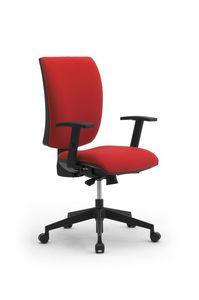 Sprint X, Chaise de bureau opérationnel, avec dossier de moyenne-haute