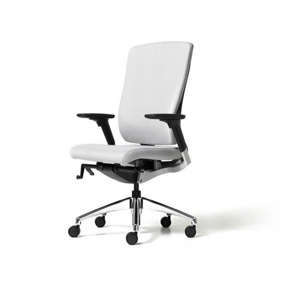 Style, Président exécutif, confortable, avec dossier ergonomique