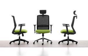 Tekna 01 PT, Chaise de bureau avec repose-tête