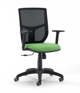 UF 348, Chaise de bureau, dossier résille