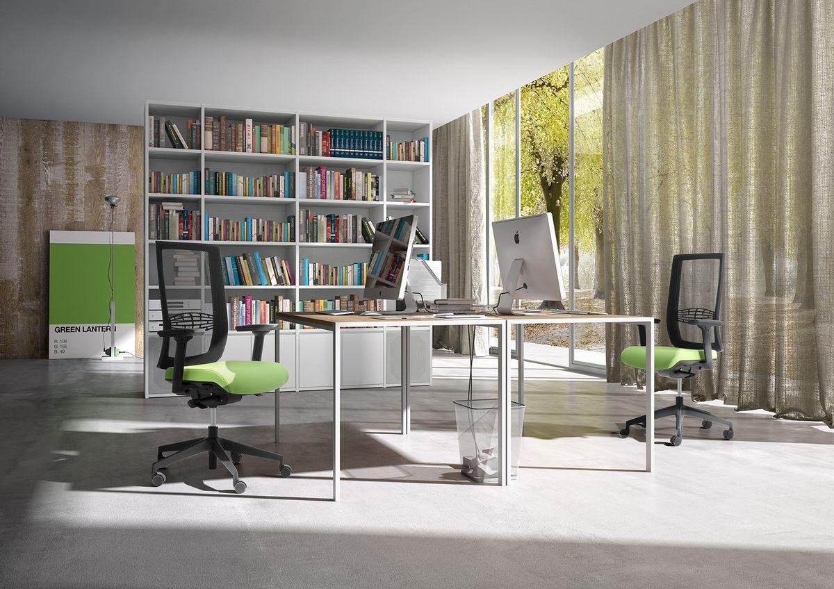 Wiki RE, Chaise de bureau opérationnel avec support lombaire
