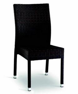 9406 Aida, Chaise tissée pour bars et restaurants en plein air