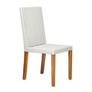 Fiji 4306, Salle à manger chaise pour le jardin avec dossier haut et confortable