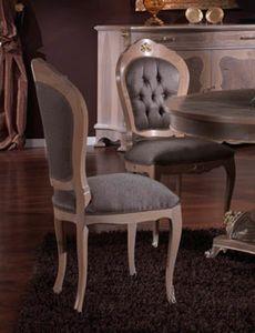 3640 CHAISE, Chaise de style classique, prix outlet