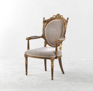 8012, Chaise avec accoudoirs, de style classique