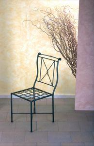 Chaise SD/091, Chaise en fer, prix de vente