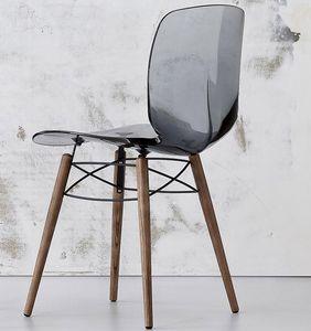 Loto W, Chaise de sortie en bois et plastique