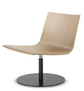 EXEN 240, Chaise pivotante en bois