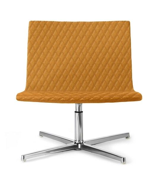 EXEN 242 Z, Chaise pivotante rembourrée