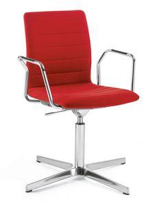 Q2 IM, Chaise pivotante et réglable en hauteur