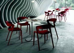 3058 Kikka one, Chaise en polypropylène renforcé de fibre de verre