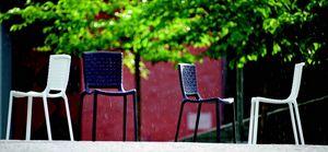 9290 Tatami, Chaise empilable en plastique, pour l'extérieur