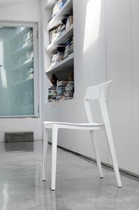 ALMERIA SE806, Chaise de cuisine en plastique