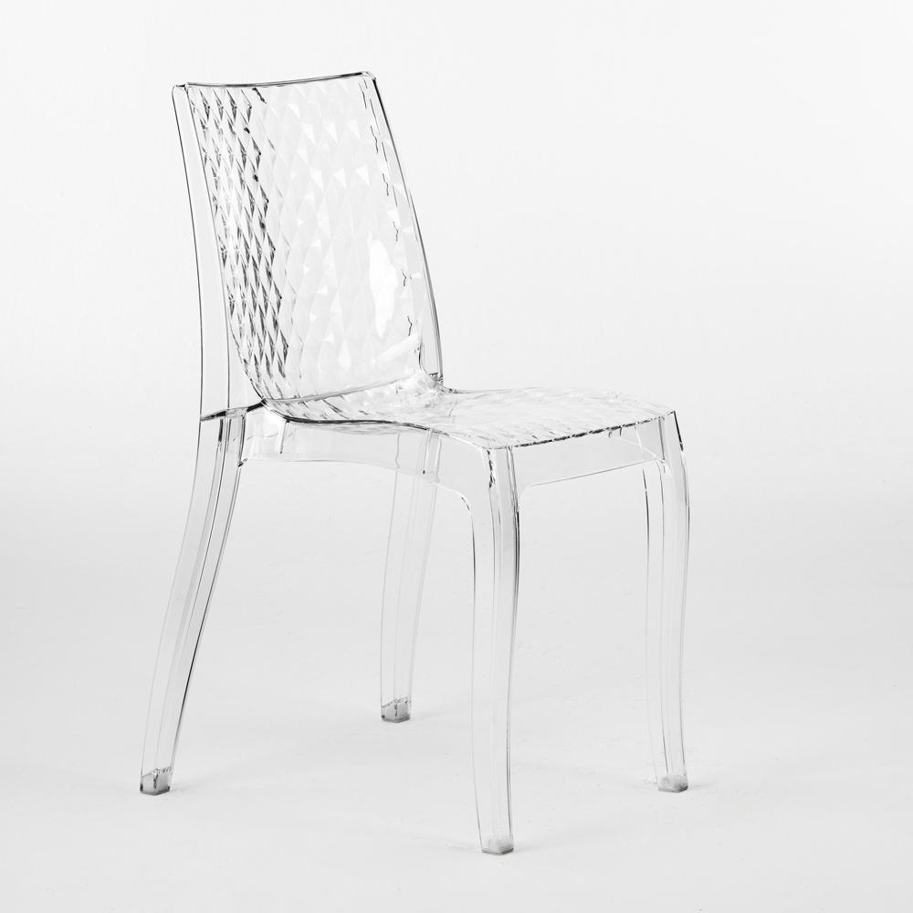 Chaise Design Transparent Interne Hypnotic