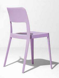Gege, Chaise en polypropylène pour usage intérieur et extérieur