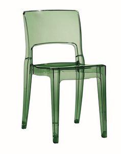 Isy, Chaise en plastique pour bar